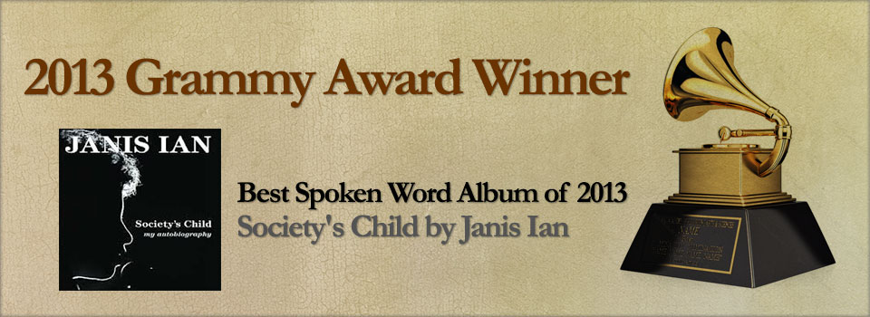 Best Spoken Word Album of 2013 – Society's Child by Janis Ian